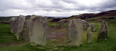 Drumbeg stone circle  Cork, Munster, Ireland - panoramic view | © Boguslaw Kupisinski | Dreamstime.com
